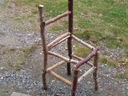 making rustic furniture. Picture Of Build Yourself A Rustic Wood Chair Making Furniture