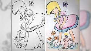drawing pictures for adults. Wonderful For Kids Book Colored By Adults  Results Are Creepy U0026 Hilarious With Drawing Pictures For H