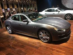 2018 maserati. simple 2018 2018 maserati ghibli gains some extra performance muscle for frankfurt throughout maserati