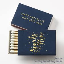 Cheap Personalized Matches For Weddings