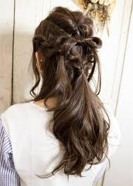 お呼ばれ結婚式にもおすすめリボンヘアーのおすすめ画像18選