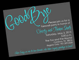 Free Farewell Card Template New Free Printable Invitation Templates Going Away Party Party Ideas