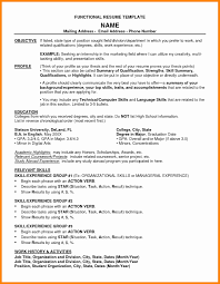 Functional Resume Unusual Functional Resume Template Word Photos Resume Ideas 44