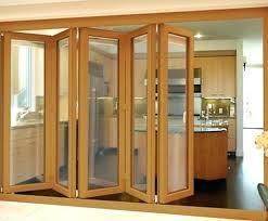 solid wood folding doors design interior home decor wooden accordion gate baby gates door custom wood auto gate