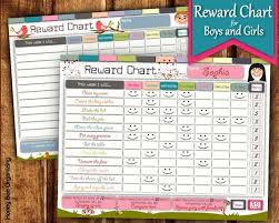 Reward Chart For 2 Year Old Printable Reward Charts For Kids 6 To 12 Years Old Raising