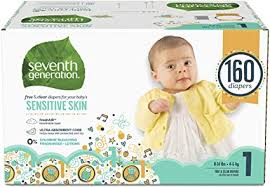 Seventh Generation Baby Diapers for Sensitive Skin ... - Amazon.com