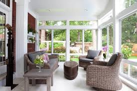 wicker furniture for sunroom. Cool Indoor Wicker Furniture Sunroom With Outdoor Brown Orchids For O