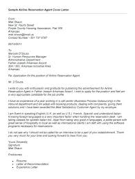 Airline Customer Service Cover Letter Sample Airline Customer