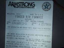 similiar armstrong air conditioner model numbers keywords need armstrong furnace age internachi inspection forum