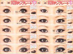 monolid makeup asian makeup tips korean makeup anese makeup eyeliner shapes monolid