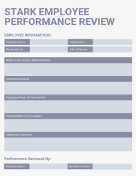 Employee Comments On Performance Evaluation 027 Light Employee Performance Review Template Ideas