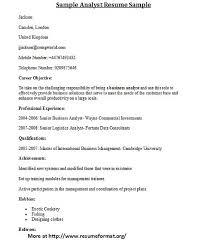 business analyst resume sample instant cover letter writing resume cover letter
