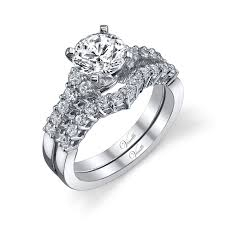 Design Jewelers Edmonton Siemer Jewelers Venetti C361ws Set Wedding Sets