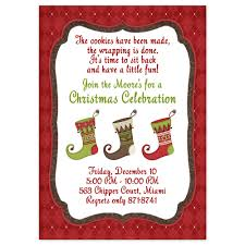 Printable Holiday Party Invitations Christmas Party Invitations Christmas Stocking Design Printed