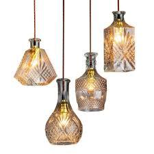 edison makena collection 4 light black glass indoor chandelier