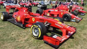 Red Mist A Sampling Of The Greatest Ferrari Race Cars Ever