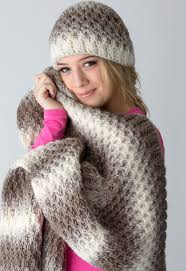 Loom Knitting Hat Patterns Impressive Make This Beautiful Loomknit Hat And Blanket Set With Lion Brand