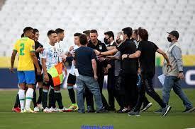 عاجل.. إتحاد أمريكا الجنوبية يعلق مباراة البرازيل والأرجنتين.. ويؤكد:  القرار في يد الفيفا
