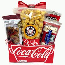 coca cola gift basket