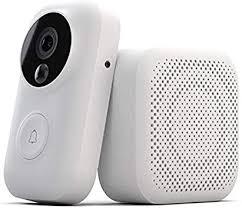 Zero <b>AI Face Identification 720P</b> IR Night Vision Video Doorbell Set ...