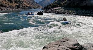 Travels In Geology Rafting The Salmon River Through The