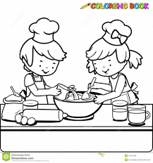 Small Picture Cooking Coloring Page aecostnet aecostnet