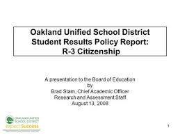 Staff Report Interesting 44 R44 Report Graduation A Presentation To The Board Of Education By