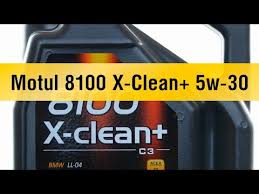 <b>Моторное масло Motul 8100</b> X-Clean+ 5w-30 - YouTube