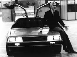 「1975年 - ジョン・デロリアンがデロリアン・モーター・カンパニー(DMC)を創業」の画像検索結果