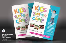 Flyers Theme Kids Summer Camp Flyers Psd Template