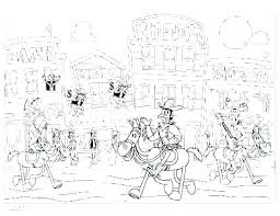 Old West Coloring Pages Western Coloring Pages Western Coloring