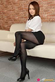 Sexy asin women in nylons