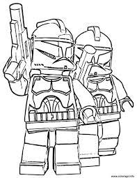 Coloriage Lego Star Wars 60 Dessin