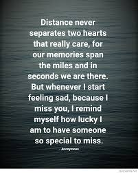Long Distance Love Quotes