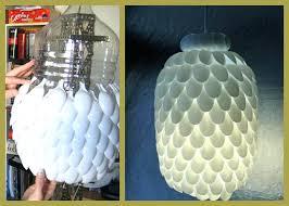 diy lampshade ideas make a lamp shade plastic spoon home ideas collection diy lampshade ideas