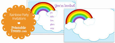 Party Invitation Images Free Free Printable Rainbow Party Invitations Printable Rainbow Party