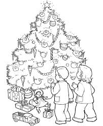 Blank Christmas Coloring Pages Zupa Miljevcicom