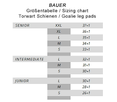Bauer Supreme Size Chart Goalie Leg Pads Bauer Supreme S150 Junior L White Black