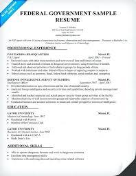 federal resume resume federal resume format