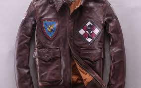 mens a2 flight jacket with pactchwork pattern vintage genuine