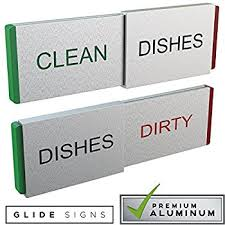 clean refrigerator sign office. dishwasher magnet clean dirty magnets - never mix \u0026 dishes quality kitchen refrigerator sign office