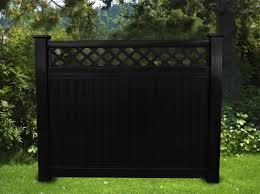 black vinyl privacy fence. Before Black Vinyl Privacy Fence D