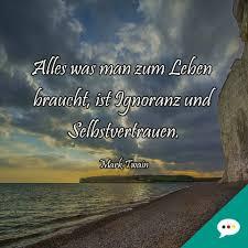 Mark Twain Selbstvertrauen Zitat Deutsche Sprüche Xxl Facebook