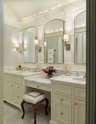 double bathroom vanity with makeup area. home design awesome ideas double sink vanity with makeup area how to light a bathroom mirror