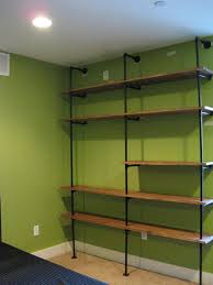 7 put together the shelving unit