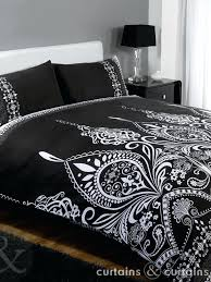 black and white duvet set spacious fresh black white duvet sets in covers with and decor