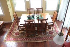 ideas best rug for under dining table