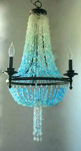 sea glass chandelier. Extraordinary Sea Glass Chandelier Lamps Best Ideas On . I