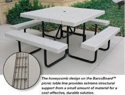 picnic table frame options