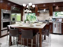 Kitchen: Very Small Square Kitchen Island Table Ideas With Storage And  Butcherblock Top - Kitchen